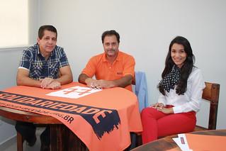 Amarildo Sentoma, vereador em Guaraçaí, tem reunião com direção estadual do Solidariedade