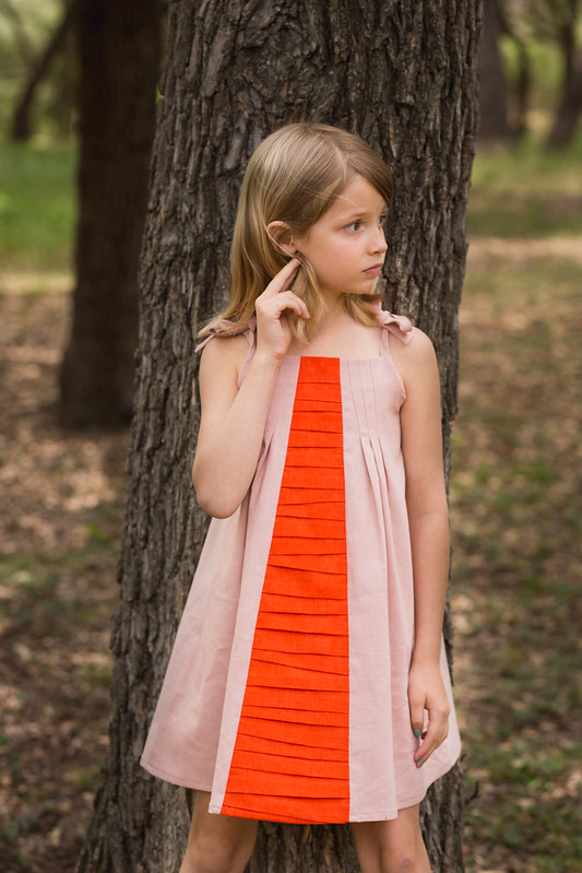 persimmon dress
