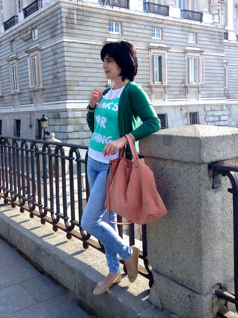 Palacio Real - Madrid - España - Spain - Outfit of the day - OOTD