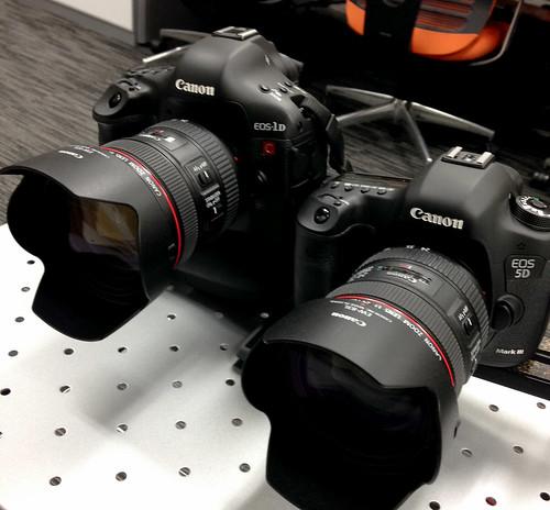 EOS-1D C & EOS 5D Mark III
