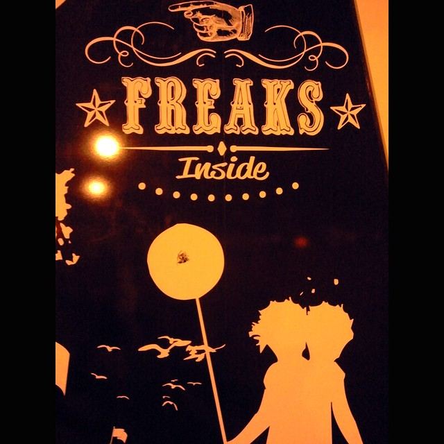 Freaks inside!