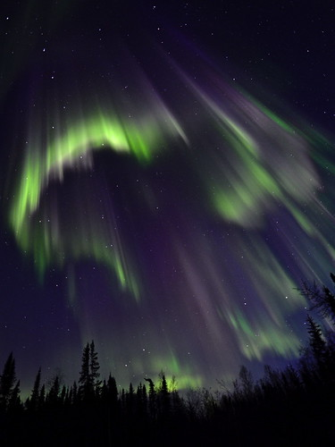 Northern lights in Spring 2014
