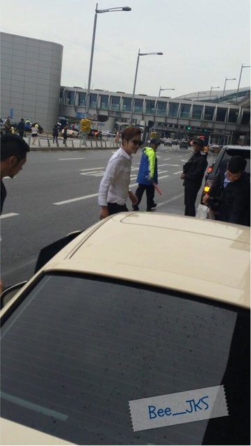 [Pics-2] JKS returned from Beijing to Seoul_20140427 14012022546_5bb5aa218b_z