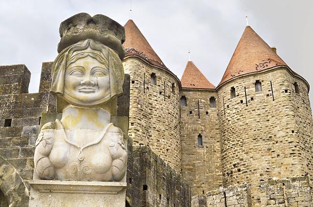 Dame Carcas, Medieval City, Carcassonne, France