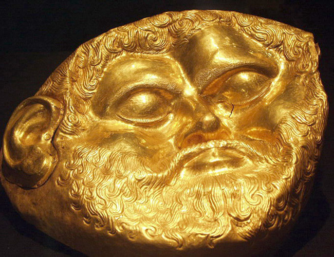 The Golden Mask of King Teres I