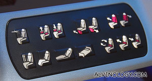 Various reclining modes