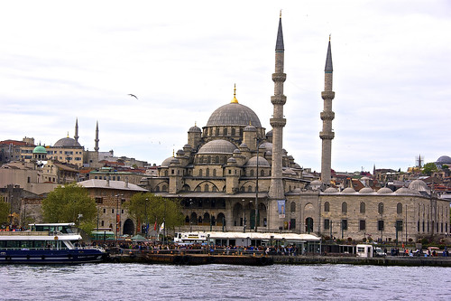 Mosque on the shores of Bosphorus
