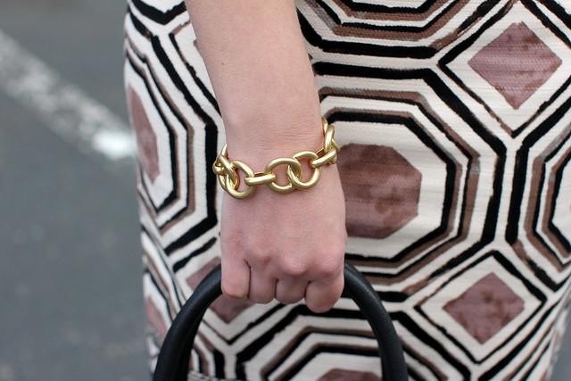 Stella & Dot Jackie Link Bracelet
