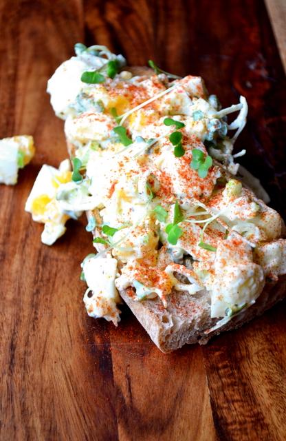 Egg and Cress Sandwich Recipe