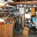 His shop