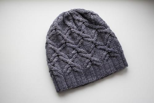 Scrollwork hat