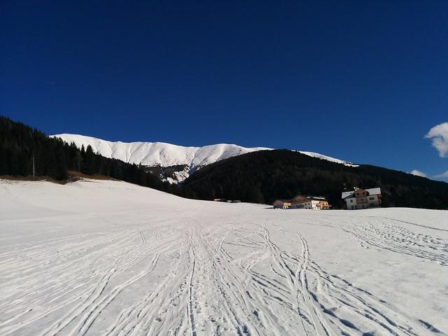 Start am Parkplatz Aufstieg Toblacher Pfannhorn
