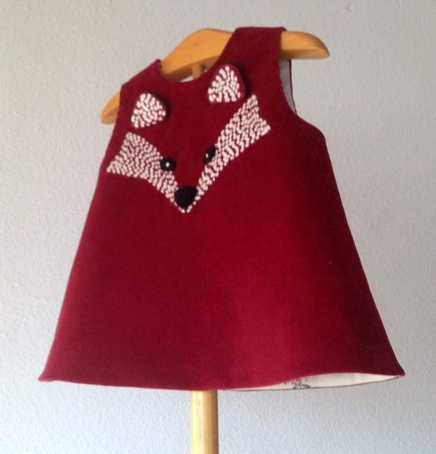 vestido zorrito bebitas