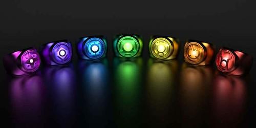 DC Lantern Corps Rings