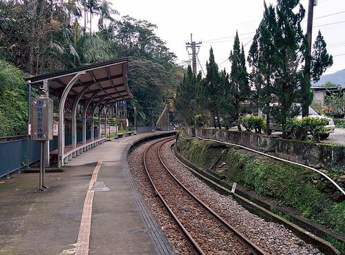 Pingxi railway line - Lingjiao station