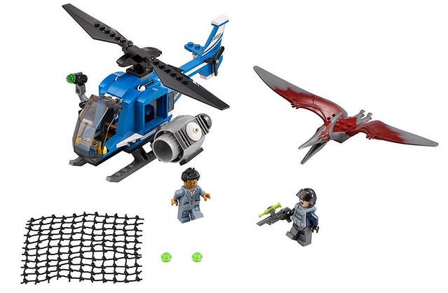 LEGO Jurassic World 75915 - Pteranodon Capture