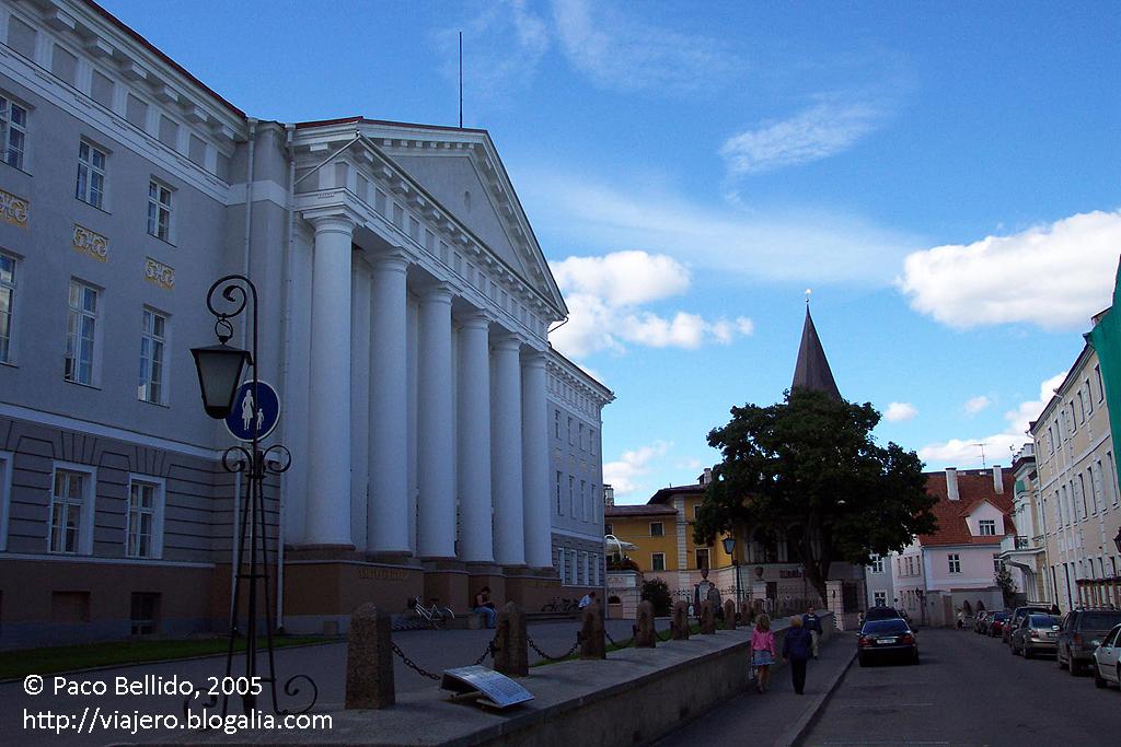 Academia de Bellas Artes de Tartu. © Paco Bellido, 2005