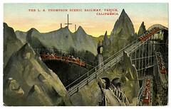 The L.A. Thompson Scenic Railway, Venice, California