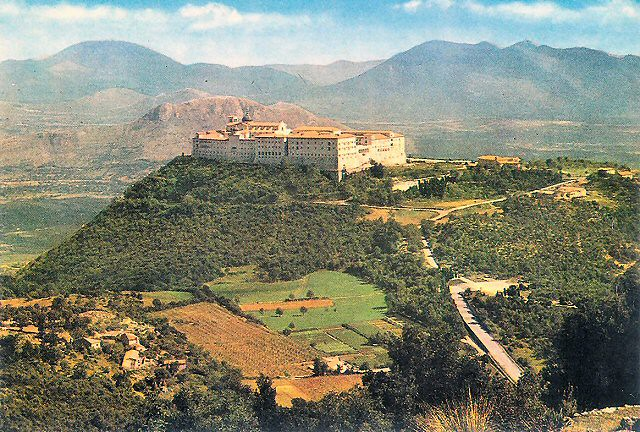 The rebuilt Abbey of Monte Cassino (2)