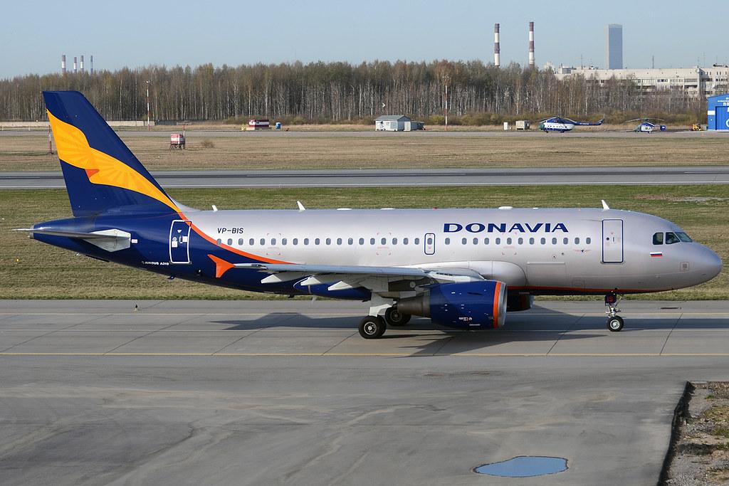 Donavia, VP-BIS, Airbus A319-112