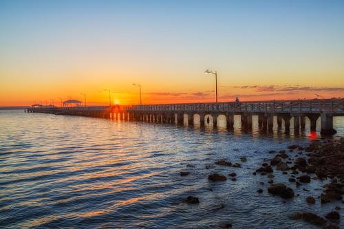 sunrise tampa florida processing nik hdr photomatix ballastpointpark