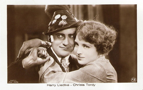 Christa Tordy and Harry Liedtke in Amor auf Ski (1928)