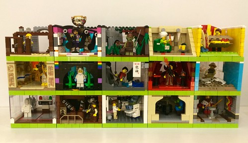 Series 13 Collector Minifigure Habitats