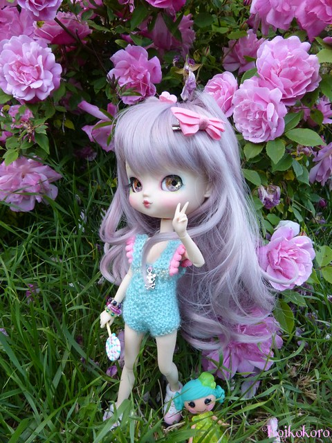 Les Vinyls de Koikokoro~Ileana, little vampire (Icydoll) 26761740062_90185b856e_z