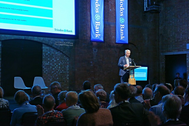 Peter Blom, CEO Triodos Bank on podium from RAW _DSC0275