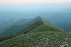 panorama sulla cresta sud