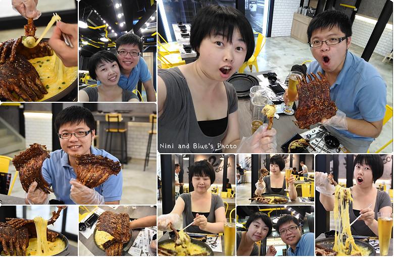 打啵G台中韓式料理烤肉串菜單menu價位34