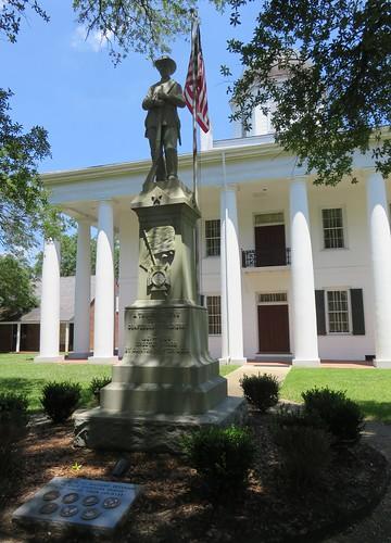 la louisiana clinton statues confederatemonuments civilwarmonuments civilwarmemorials eastfelicianaparish courthouseextras floridaparishes