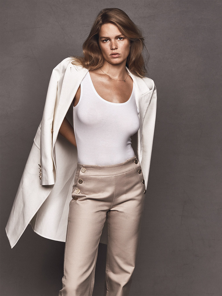 Анна Эверс — Фотосессия для «Vogue» UK 2016 – 5