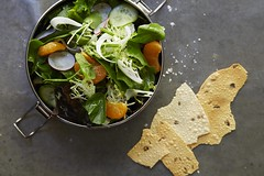 Salad With Seasonal Vegetables and Mandarin Orange…