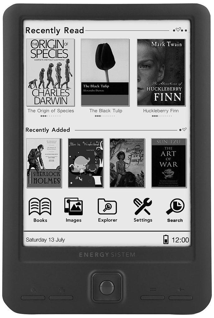 Energy eReader Screenlight
