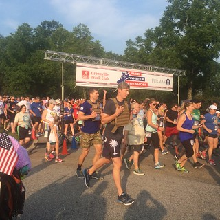 Red, White and Blue Shoes 5k 2016