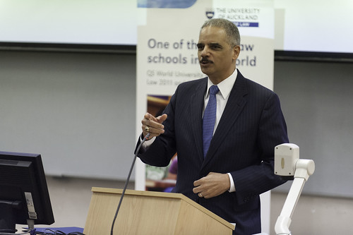 Attorney General Eric Holder sued for employment discrimination