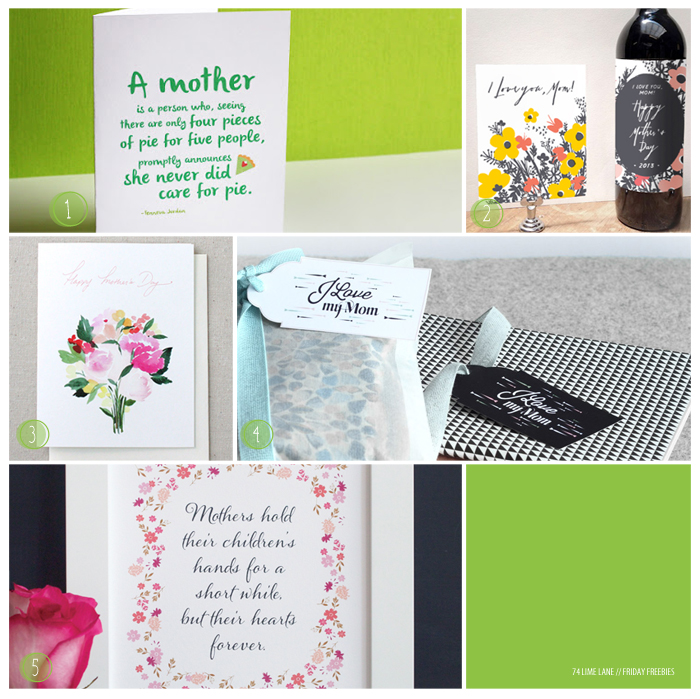 fridayfreebies 18 // mother's day