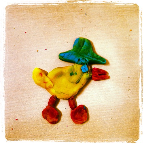 Play-doh Pato