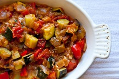 vegetable, vegetarian food, meat, food, dish, caponata, cuisine, ratatouille,