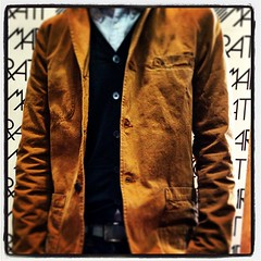 Giacca cotone edwin indossata da Giovanni presso Marzorati abbigliamento a Saronno