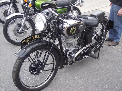 1938 BSA Gold Star Motorcycle
