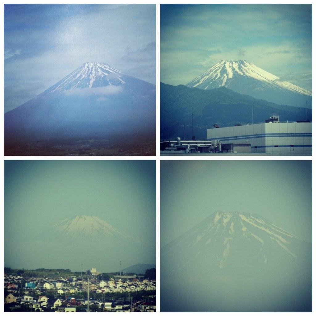 Япония фото гора фудзи