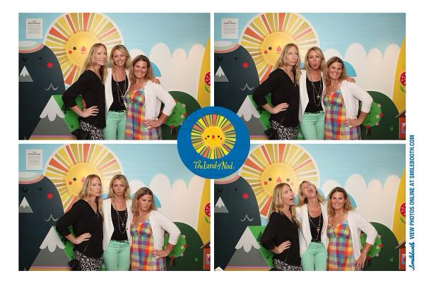 Sharon, Amy, and I at The Land of Nod Opening Party at South Coast Plaza.