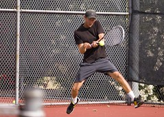 throwing(0.0), pitch(0.0), tennis(1.0), sports(1.0), tennis player(1.0), player(1.0), racquet sport(1.0), person(1.0), athlete(1.0),