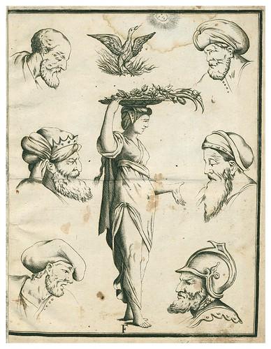 007- Letra F-Alfabeto in sogno-1720-Staatsbibliothek zu Berlin