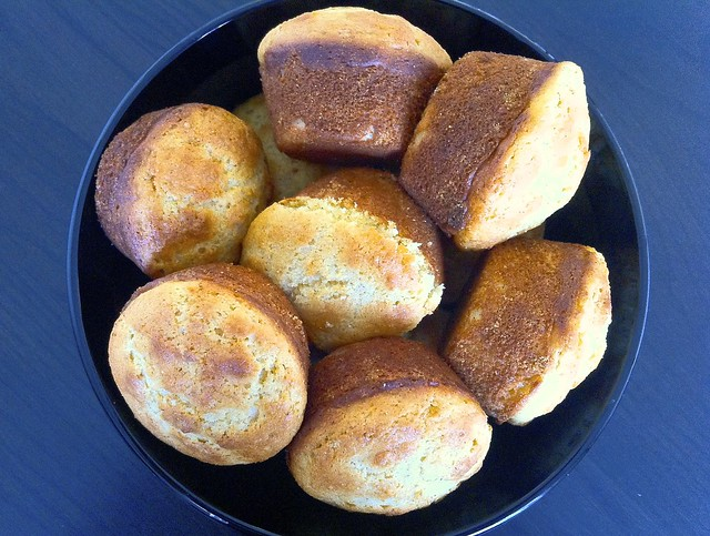 Perfect Corn Muffins Closeup