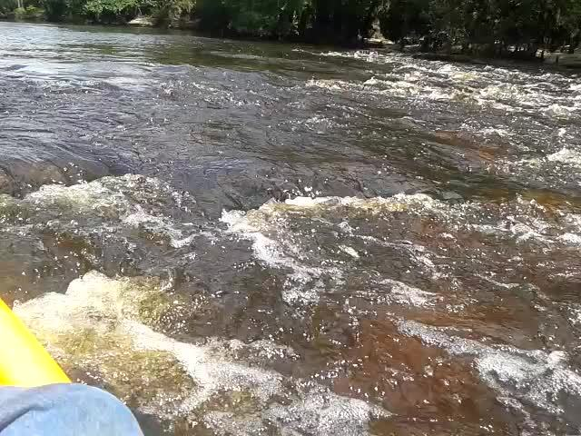 More white water