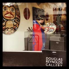 Tsimshian artist David R. Boxley