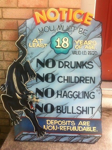TATTOO SHOP RULES | For Sailor's Grave Tattoo in Austin ...